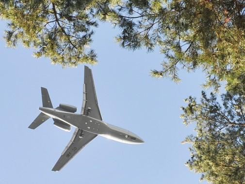 Landeanflug auf Schönefeld