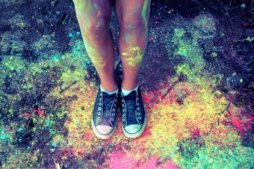 Das heilige Fest der Farben ist auch hierzulande angekommen.  Foto: Michaela Völkl  / pixelio.de