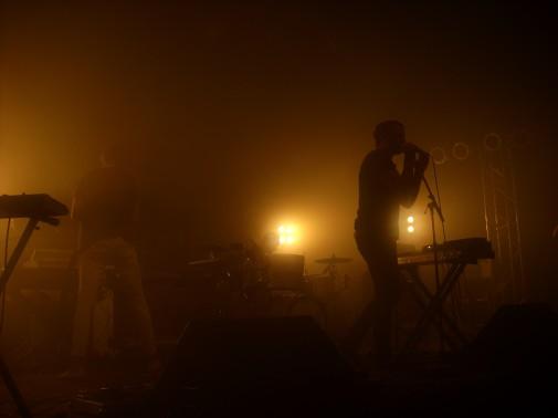 Fenech-Soler auf dem Dockville-Festival 2011. Foto: Dennis Wegner