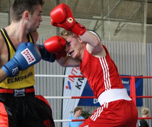 v.l. Arton Krasniqui und Clemens Busse im Finale