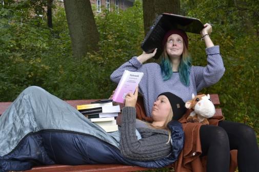 Studenten suchen verzweifelt Wohnungen in Kiel.