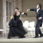 Ausdrucksstarkes Niemals-Paar: Tatjana (Agnieszka Hauzer) und Eugen Onegin (Tomohiro Takada). Foto Struck