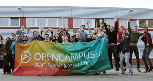 Das opencampus- Team (Foto: opencampus)