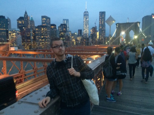Christian in New York (Foto: Christian Steiner)