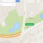 Trampstation Kiel Ecke Westring/ Schützenwall (Quelle: google maps)