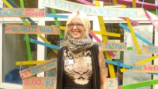 Nina, 30 hat Romanische und Englische Philologie und BWL studiert