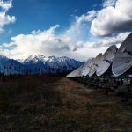 In den Bergen nahe der mongolischen Grenze.